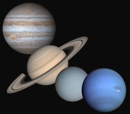the gass planets - photo #12